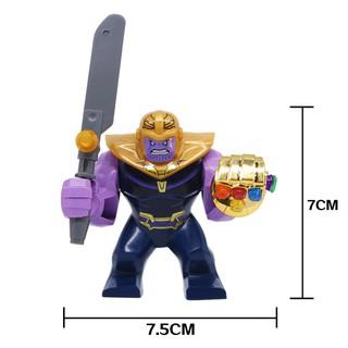 Thanos Avengers 3 BigFig Găng Tay Vô Cực Mạ Vàng Rất Chất