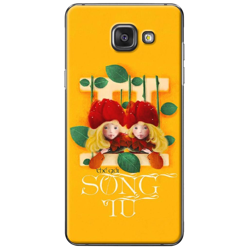 Ốp lưng Samsung A3/A5/A7/A9 (2016) - Nhựa dẻo Song tử