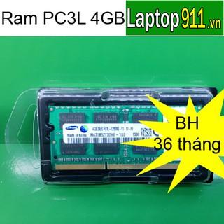 ram laptop 4gb PC3L bus 1600 mới 100% bảo hành 36 tháng, ram laptop 4gb bus 1600 PC3L