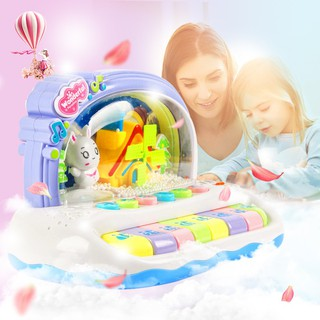 Toys Keyboard baby multi-function can play music piano beginners to get started