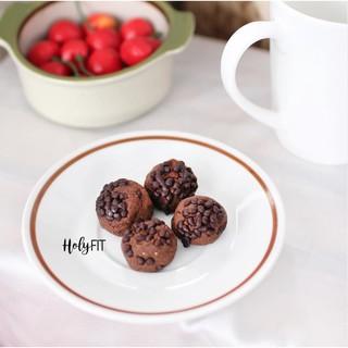 [GIÁ TỐT TỪ 5 HỘP] Bánh Hỗ Trợ Kiểm Soát Cơn Thèm Ăn, Bổ Sung Protein (Đạm) HOLYFIT (Vị Chocolate) thumbnail