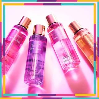 Xịt Thơm Body mist Victoria s Secret (250ml - chiết 100ml) Aqua Kiss, Love Spell, Velvet Petals, Amber Romance thumbnail
