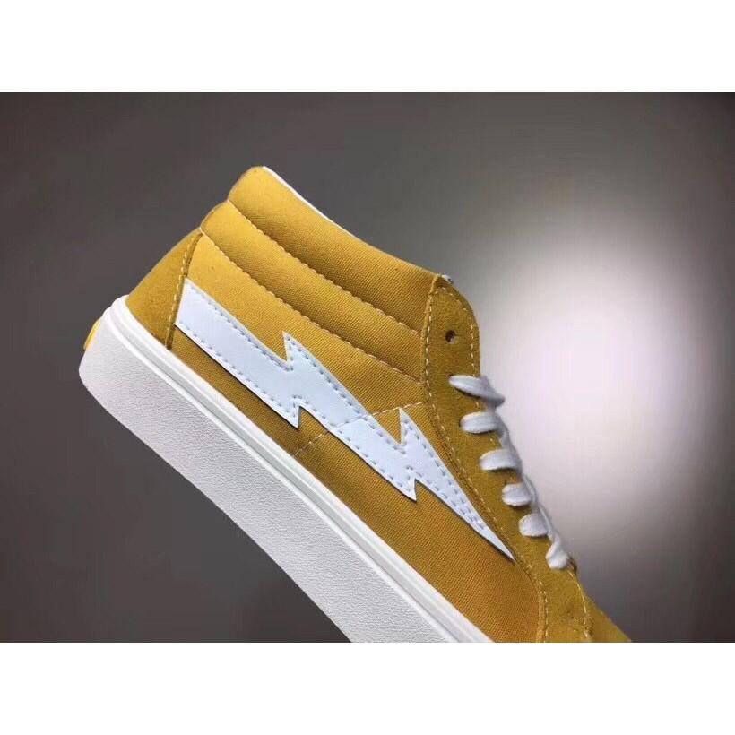 <AB> Vans Revenge x Storm สเก็ตบอร์ดป็อปอัพส่งสีเหลือง