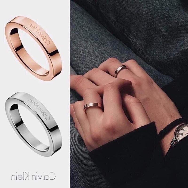 Nhẫn Ring Calvin Klein Simple Fashion
