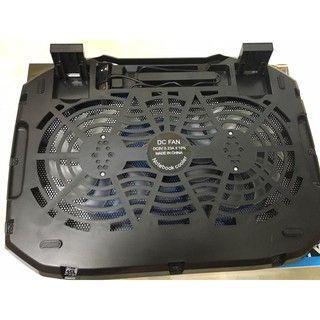 Đế Fan Tản nhiệt Laptop N136 cho các dòng laptop 14-15 in .