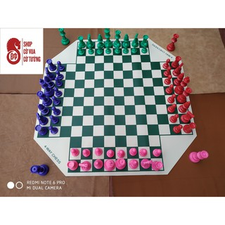 Bộ cờ vua 4 người chơi