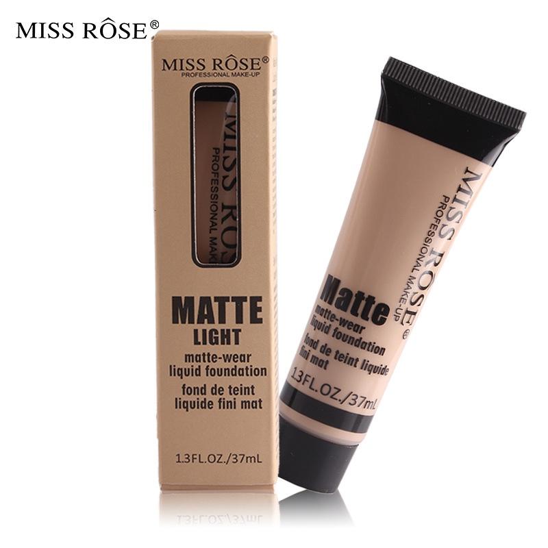 (Hàng Mới Về) Kem Nền Miss Rose 37ml Giúp Dưỡng Ẩm Cao Cấp