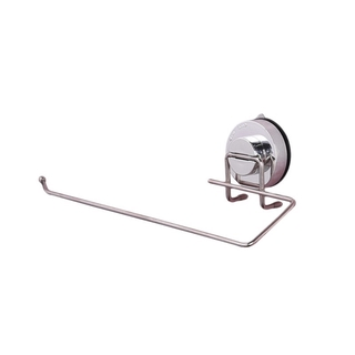 Wall Mounted Stainless Steel Adhesive Paper Holder for Bathroom Kitchen WC Toilet Tissue Paper Towel Roll Holder Shelf Stand