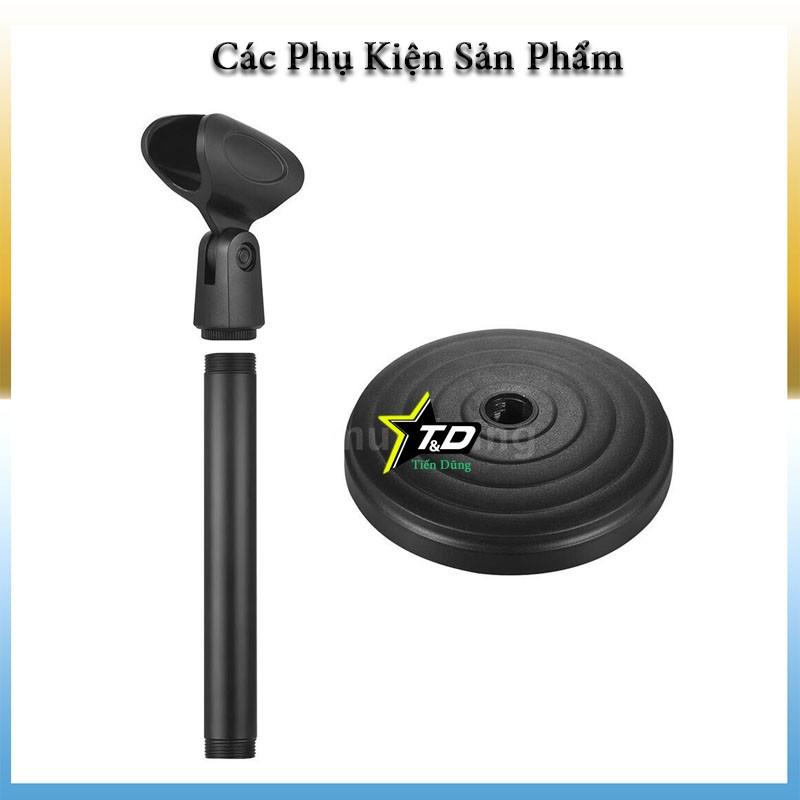 Chân mic để bàn hay giá đỡ mic dòng 1 mic - chân micro dùng tốt cho các mic như C7 C11 C16