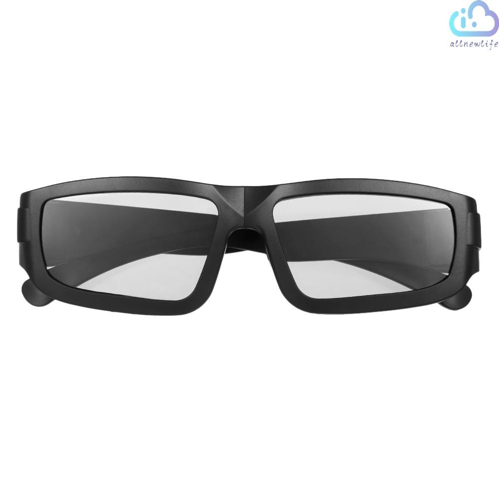 A&L Passive 3D Glasses Circular Polarized Lenses for Polarized TV Real D 3D Cinemas for Sony Panasonic