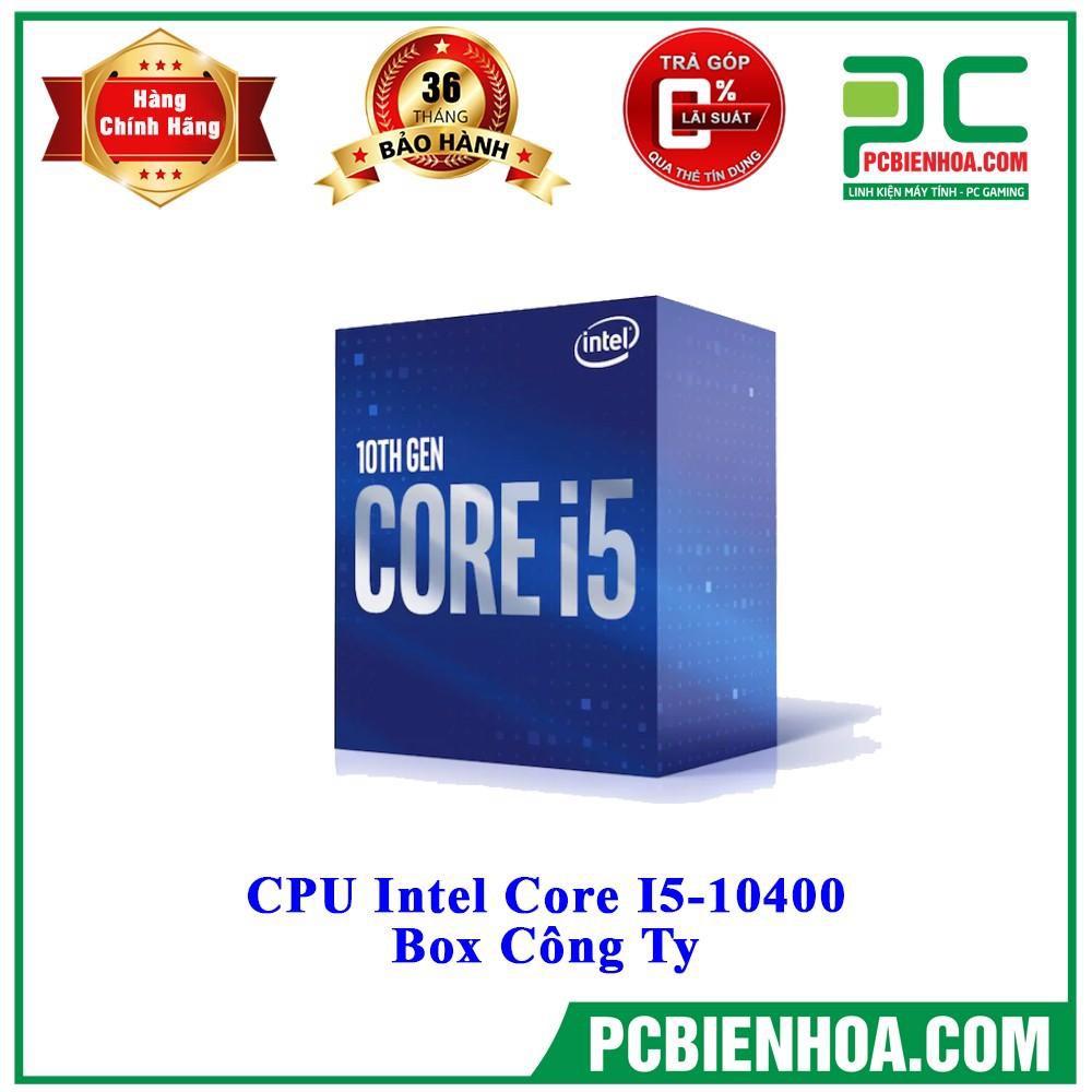 Bộ vi xử lý CPU INTEL CORE I5 10400 NEW BOX