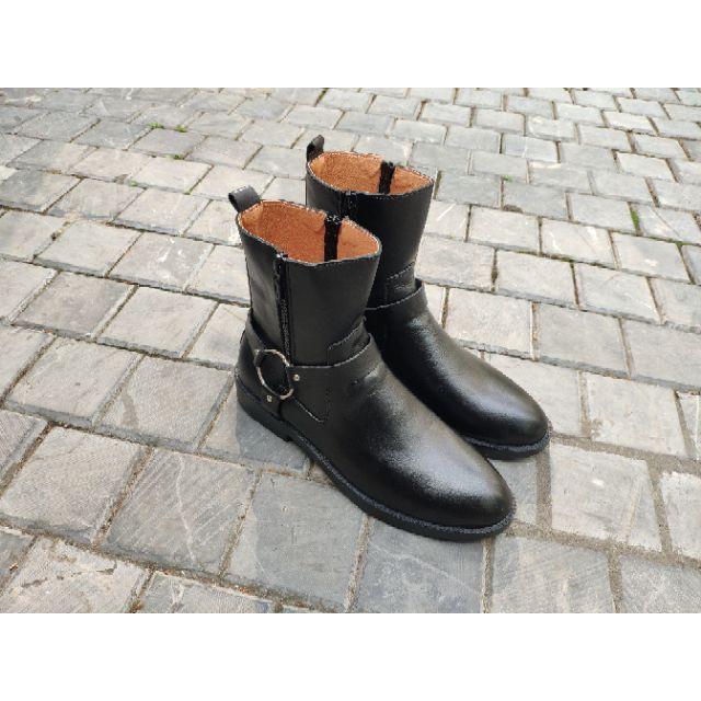 [Hỗ trợ vận chuyển ship] Giày chelseaboot nam cao cổ/Tặng 6cm