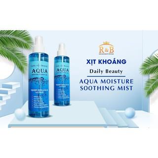 Xịt Khoáng Aqua Moisture Soothing Mist thumbnail