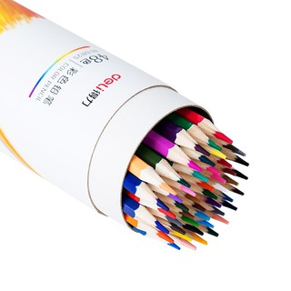 Hình ảnh Bút chì màu chuyên nghiệp dạng cốc Deli 24/36/48 màu - 68123/68124/68125-2