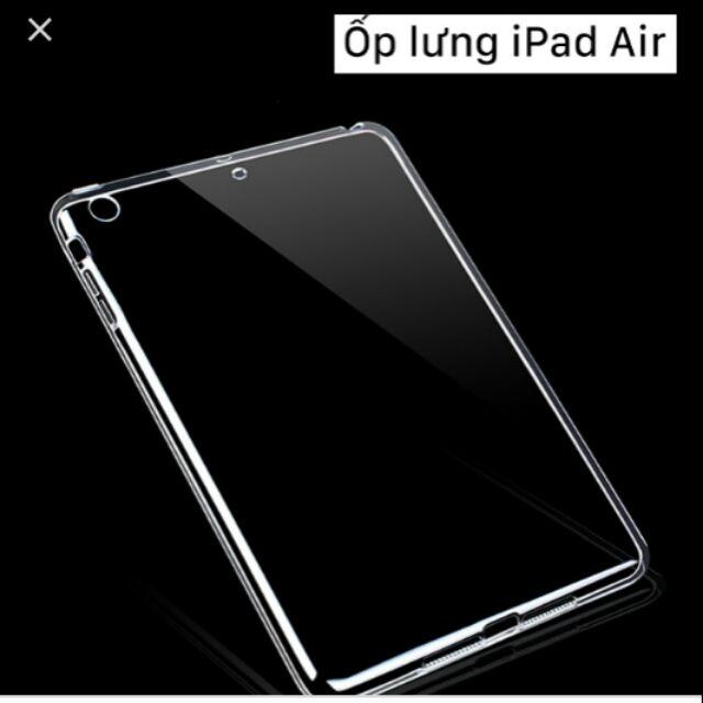 Ốp dẻo trong silicon ipad air / ipad 5