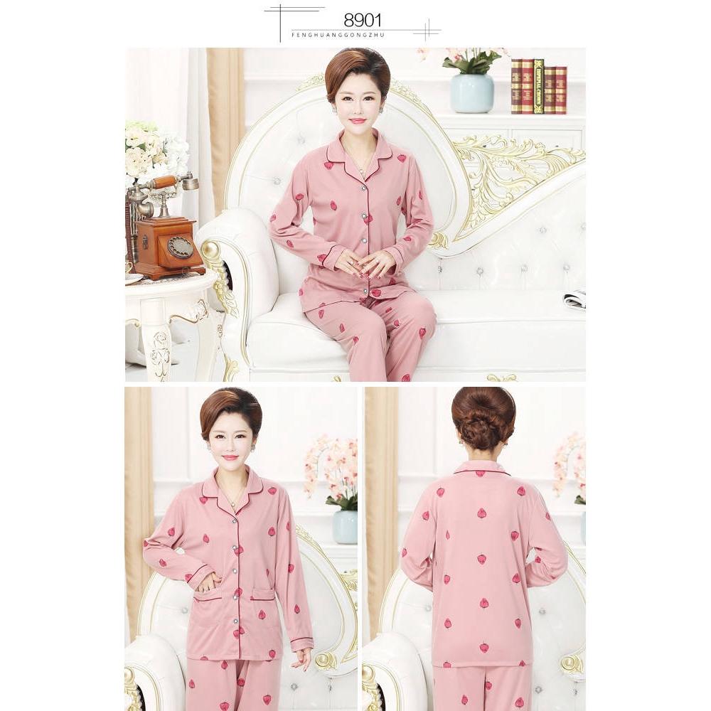 bộ đồ ngủ pijama tay dài cho mẹ và bé - 22153673 , 3403589315 , 322_3403589315 , 430100 , bo-do-ngu-pijama-tay-dai-cho-me-va-be-322_3403589315 , shopee.vn , bộ đồ ngủ pijama tay dài cho mẹ và bé