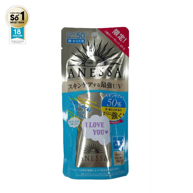 Hình ảnh [Phiên bản giới hạn]Sữa chống nắng bảo vệ hoàn hảo Anessa Perfect UV Sunscreen Skincare Milk 20ml-8