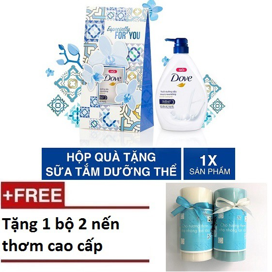 Bộ 2Hộp Qùa Sữa Tắm Dove Nuôi Dưỡng Sâu 530g ( MSP 67348080x2 )+ Tặng 1 bộ 2 nến thơm cao cấp. - 3249353 , 934830162 , 322_934830162 , 222000 , Bo-2Hop-Qua-Sua-Tam-Dove-Nuoi-Duong-Sau-530g-MSP-67348080x2-Tang-1-bo-2-nen-thom-cao-cap.-322_934830162 , shopee.vn , Bộ 2Hộp Qùa Sữa Tắm Dove Nuôi Dưỡng Sâu 530g ( MSP 67348080x2 )+ Tặng 1 bộ 2 nến thơm