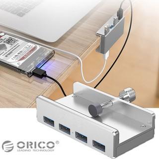 [Mã ELFLASH5 giảm 20K đơn 50K] Hub chia 4 cổng USB 3.0 Orico MH4PU tốc độ cao kèm USB Bluetooth 4.0