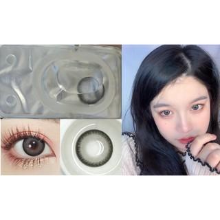 (20.DEC.25)Merry X'mas ,MNHUI Series,Xiyou Brand,14.4mm,BIG SIZE ,(Grade 0-8.00), Contact Lens yearly use(gray)