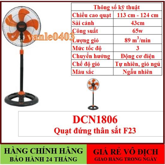 Quạt senkoFREESHIPGIAO HÀNG TRONG NGÀY(COMBO 2 CÂY) Quạt đứng senko thân sắt DCN1806