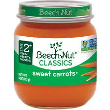 Rau củ nghiền Beech-Nut Stage 2 vị cà rốt