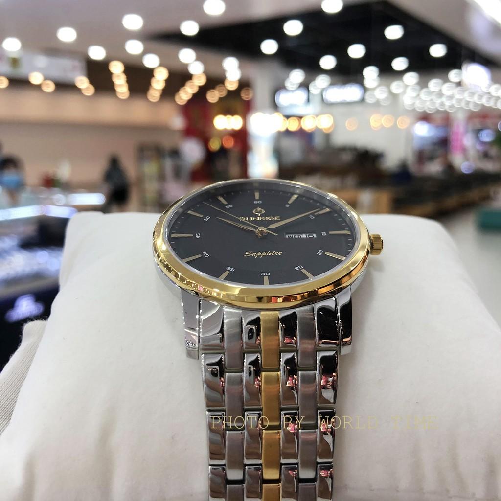 Đồng hồ nam dây kim loại Sunrise DM780SWA, full box, bảo hành 3 năm, sapphire chống xước, chống nước