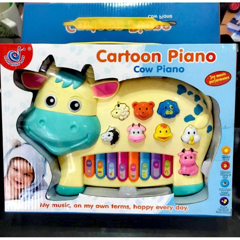 Đàn piano hình con bò, đàn piano hình con voi