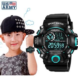 Đồng hồ Trẻ Em ARMY GIRA USA An toàn tuyệt đối cho Bé, Chống Sốc, Chống Nuốc Tốt