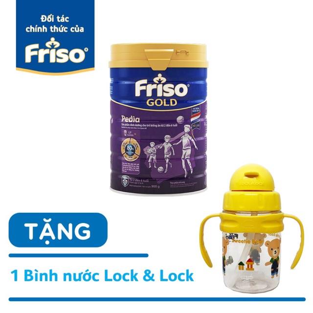 (HCM) Sữa Bột Friso Gold Pedia 900g ( tặng quà)