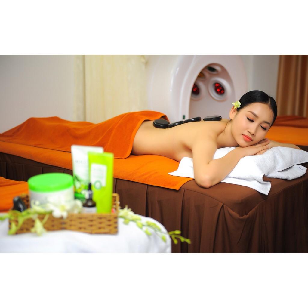 HCM [Voucher] - Trọn Gói Massage Body Thụy Điển Kết Hợp Thái Và Đá Nóng + Đắp Mặt Nạ Sữa Ong Chúa Tại Bee Spa