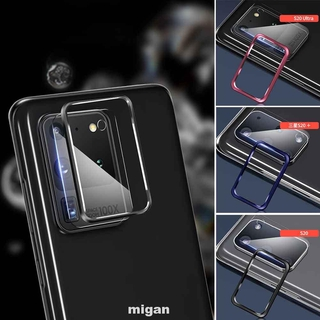 Camera Lens Screen Protector Dustproof With Ring Full Cover Anti Scratch Tempered Glass Explosion Proof For Samsung