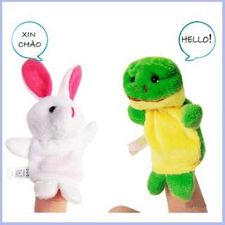 Hamy_kids Combo 5 thú xỏ ngón tay giúp kể chuyện cho bé