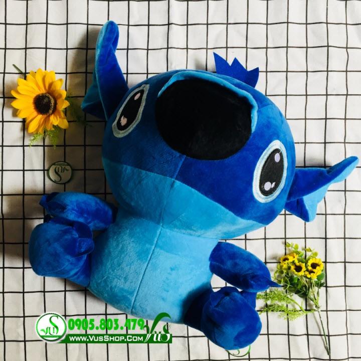 Gấu bông stitch kute size 45cm – stitch xanh