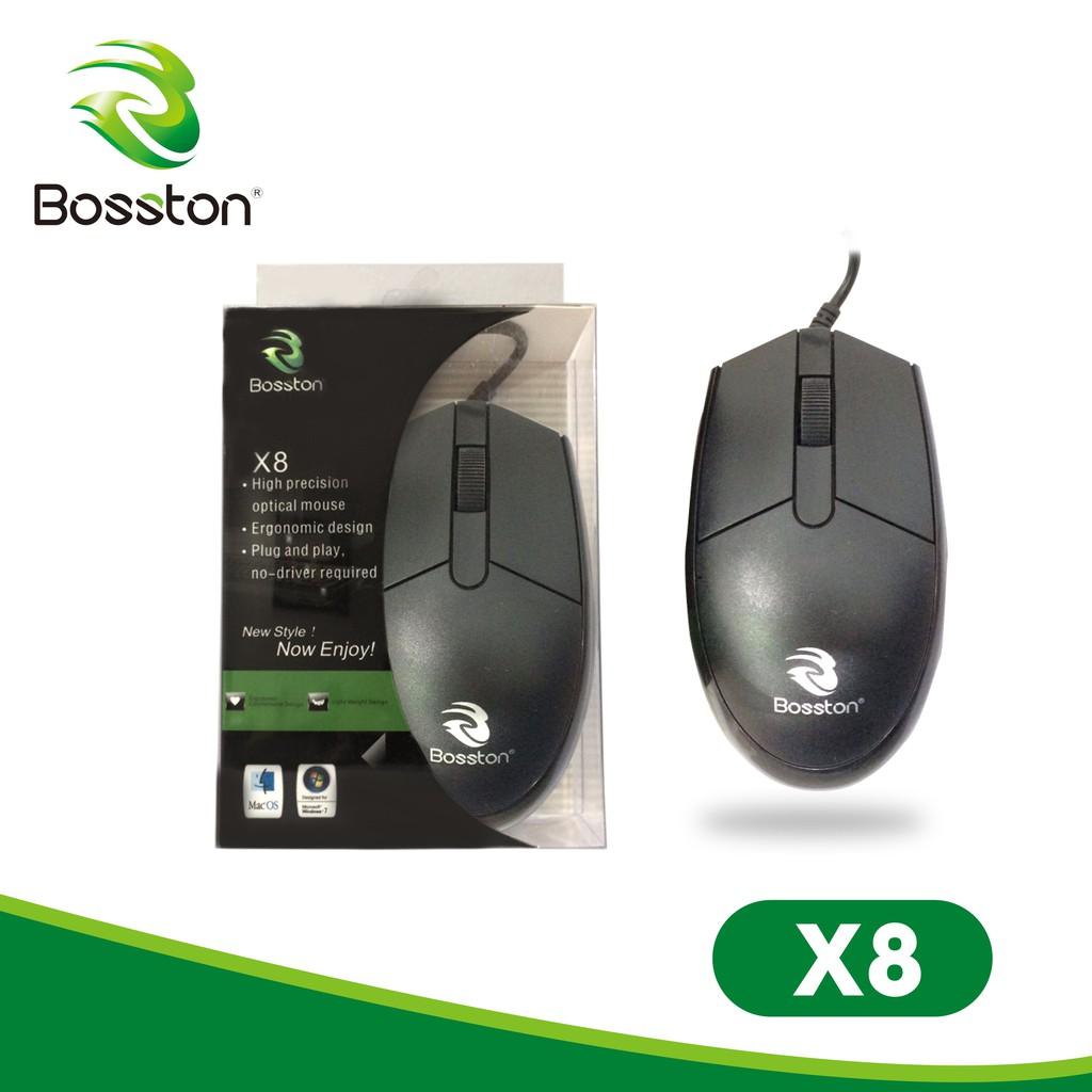 [Chính hãng] Chuột máy tính Bosston X8 độ bền cao / Mouse Bosston x8
