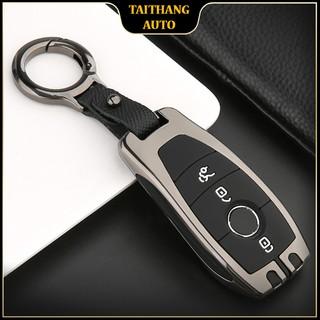 Ốp chìa khóa mercedes, bảo vệ chìa khóa mercedes, chất liệu metal cao cấp, chống va đập hiệu quả, kiểu dáng sang trọng thumbnail