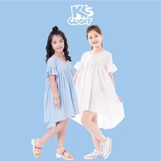 Đầm Bé Gái Cắt Chân Ngực (03 - 09 Tuổi) K's Closet K368NIS TMMN