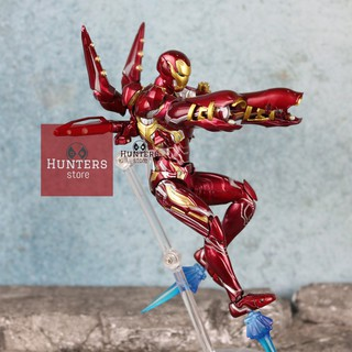 Mô hình Iron Man Mark 50 Nano Weapon Set 2 Shf Avengers Endgame