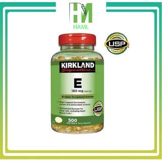 Vitamin E 400 IU 500 Viên Kirkland Của Mỹ, Date 2024 thumbnail