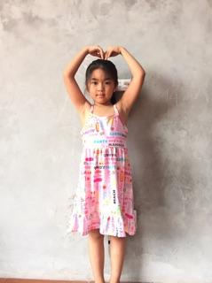 Váy 2 dây bé gái