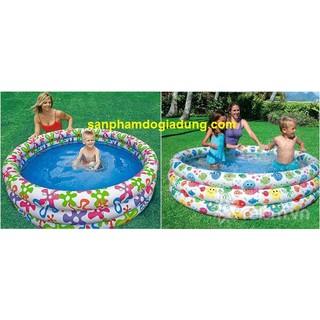 Bể bơi cá 3 tầng 168×40 Intex 56440