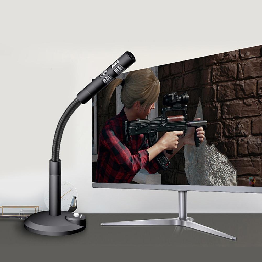 Micrô ngưng tụ có dây 3.5mm / USB cho Máy tính PC Máy tính để bàn Máy tính xách tay Máy tính xách tay Máy tính xách tay Ghi âm Trò chơi Podcasting Micrô