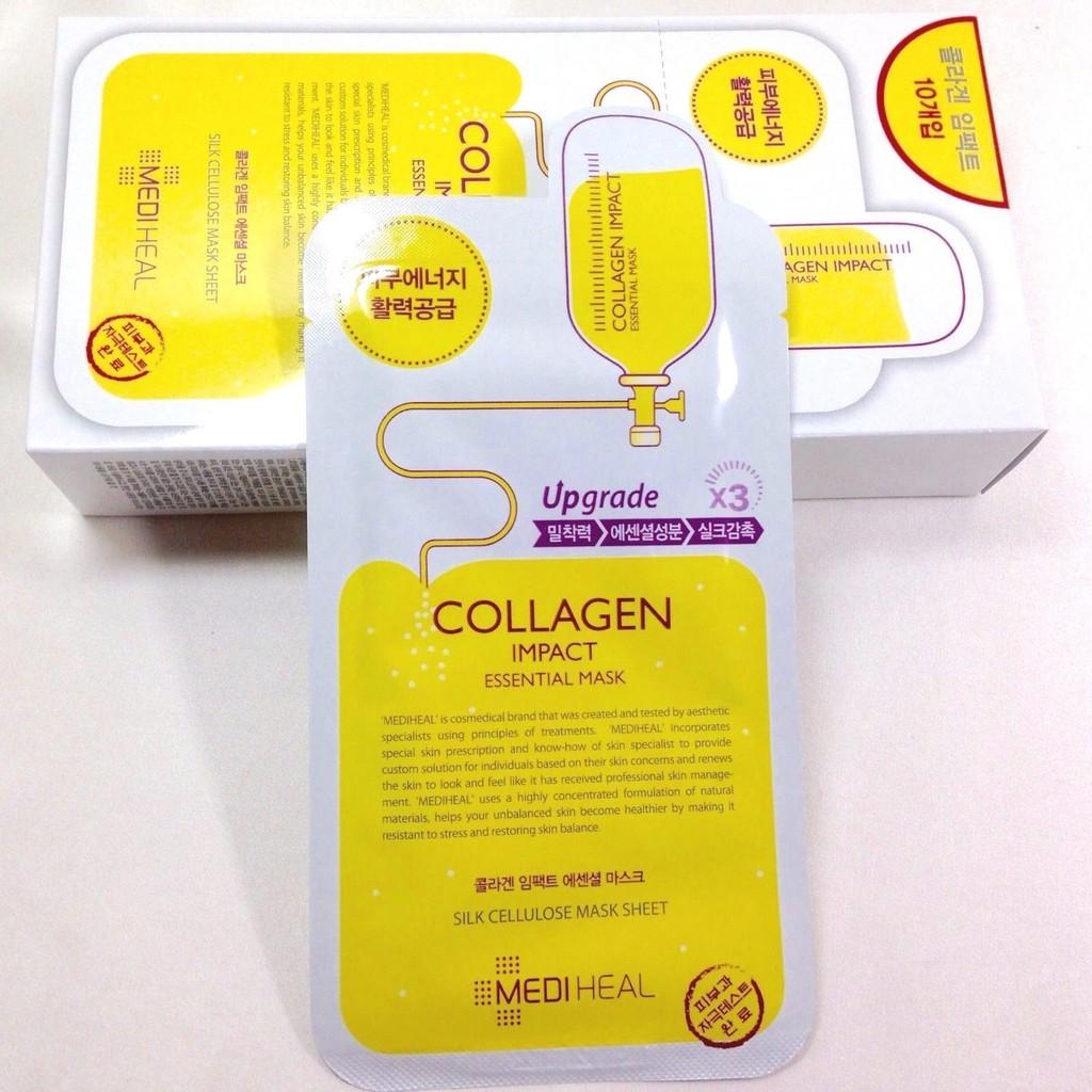 Mặt Nạ Chống Lão Hóa Mediheal Collagen Impact Essential Mask Ex