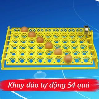 Khay đảo trứng tự động 54 trứng – Khay nhựa ABS cao cấp