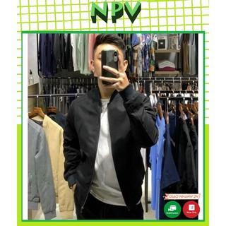 Áo khoác nam da lộn NPV tay chun bomber ,áo khoác da lộn cao cấp 4 màu giữ nhiệt tốt
