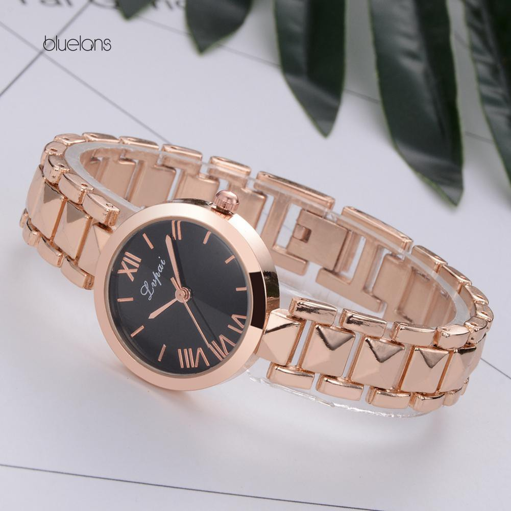 Đồng hồ hợp kim số La Mã thời trang