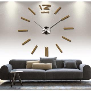 Đồng hồ treo tường - đồng hồ dán tường 3D nổi mã 082 - Kiểu dáng đơn giản - sang trọng