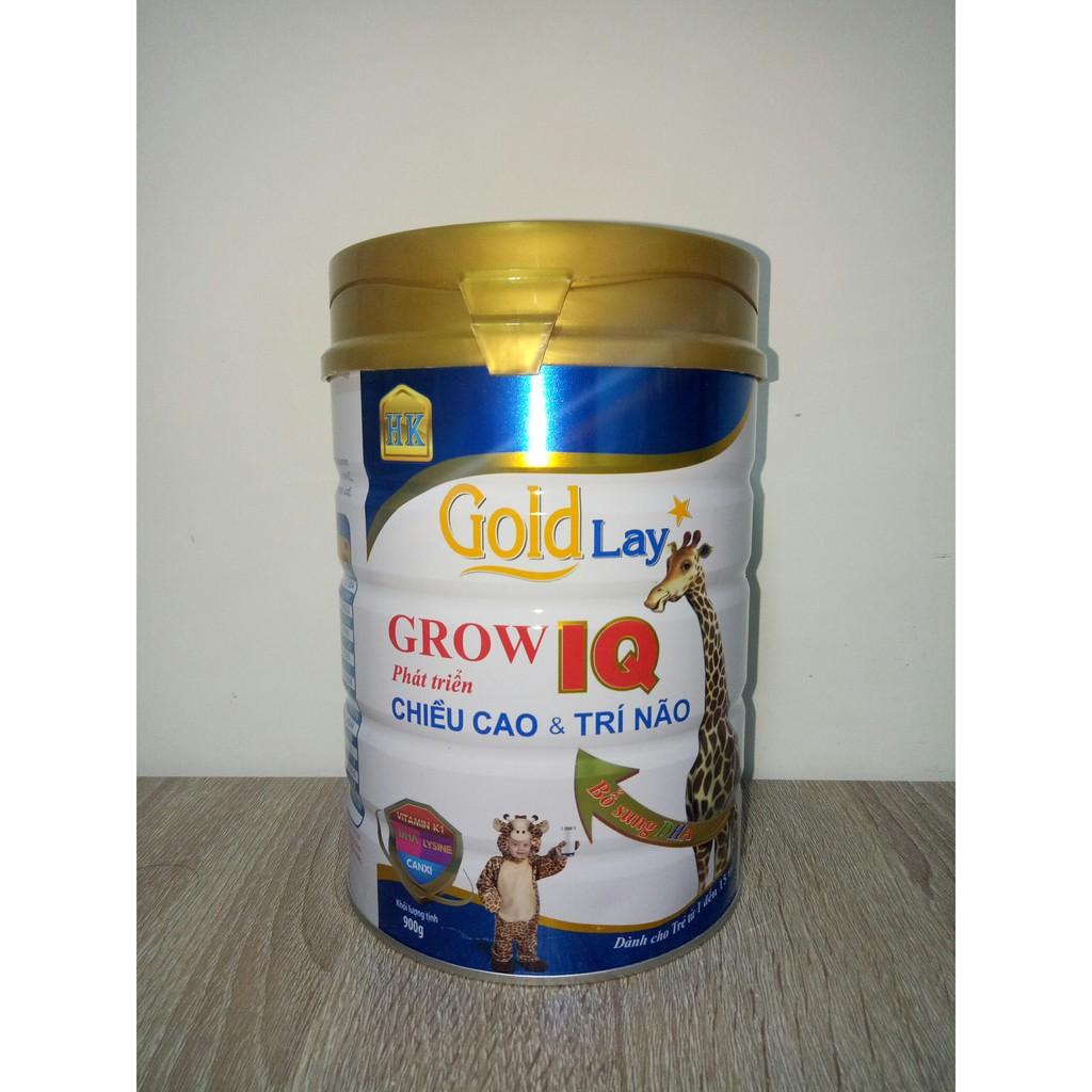 Sữa Goldlay Grow IQ [Date 2023] - Phát Triển Chiều Cao tối ưu 900gr