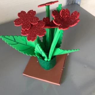 Bình hoa 5 cánh 5 đến 8 bông