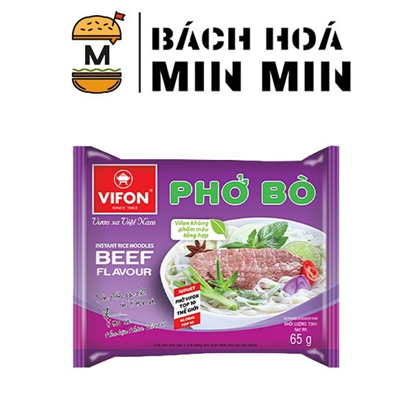 Phở bò ăn liền Vifon 65g